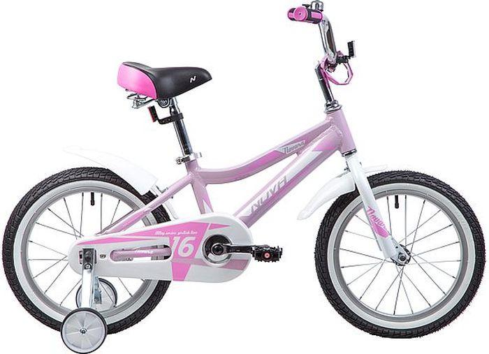 Велосипед Novatrack Novara, розовый, 16 велосипед novatrack tetris 16 16 розовый 161tetris pn8
