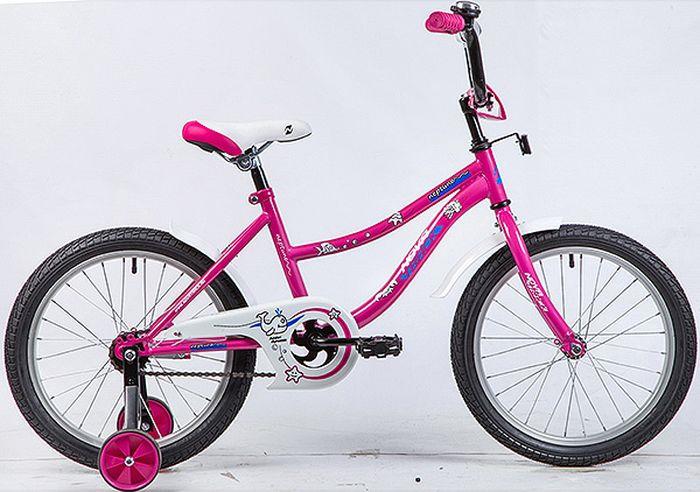 Велосипед Novatrack Neptune, розовый, 18 велосипед novatrack neptune 12 2016