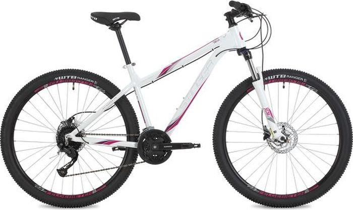 Велосипед Stinger Omega Std, белый, 27,5, рама 15