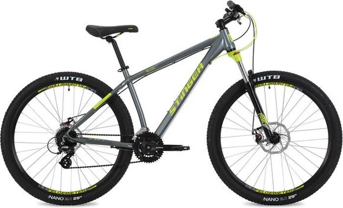 Велосипед Stinger Reload Std, серый, 29, рама 18