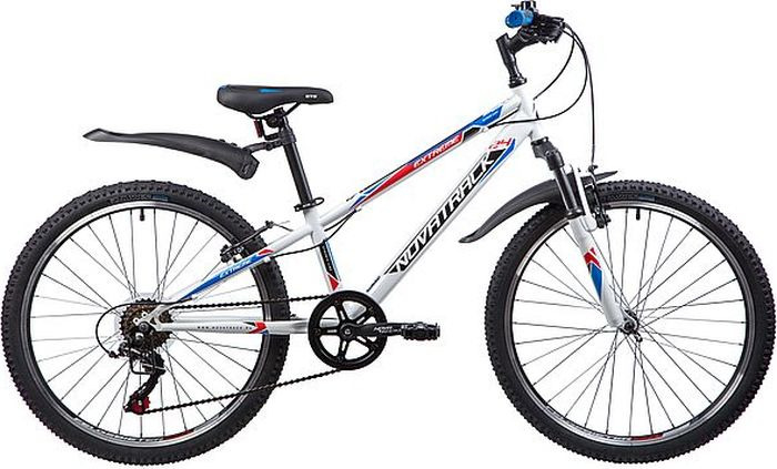 Велосипед Novatrack Extreme, белый, 24