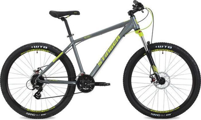 Велосипед Stinger Reload Std, серый, 27,5, рама 16