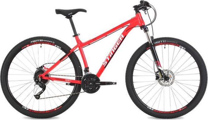 Велосипед Stinger Zeta Std, красный, 29, рама 18