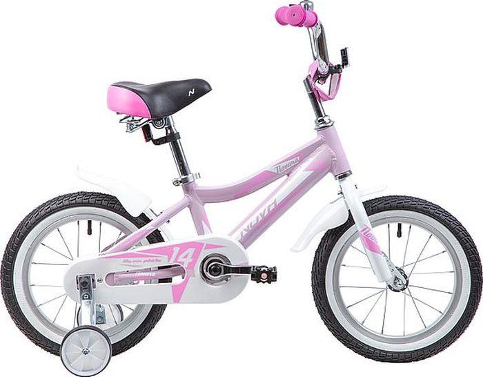 Велосипед Novatrack Novara, розовый, 14 велосипед для малышей 3 5 лет 14 500 робот