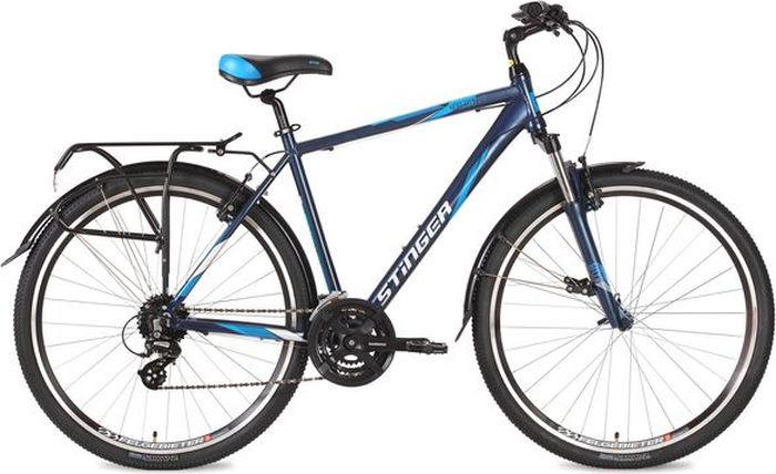 Велосипед Stinger Horizont Std, синий, 28, 52