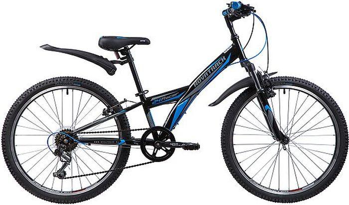 Фото - Велосипед Novatrack Racer, черный, 24, рама 10 велосипед novatrack racer черный 24 рама 10