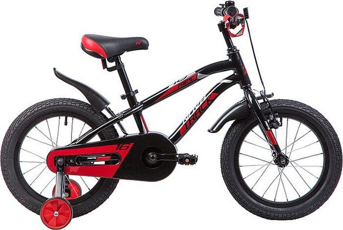 Велосипед Novatrack Prime, черный, 16 велосипед novatrack prime белый 16