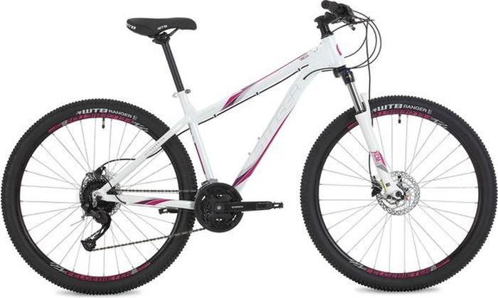 Велосипед Stinger Omega Std, белый, 27,5, рама 17