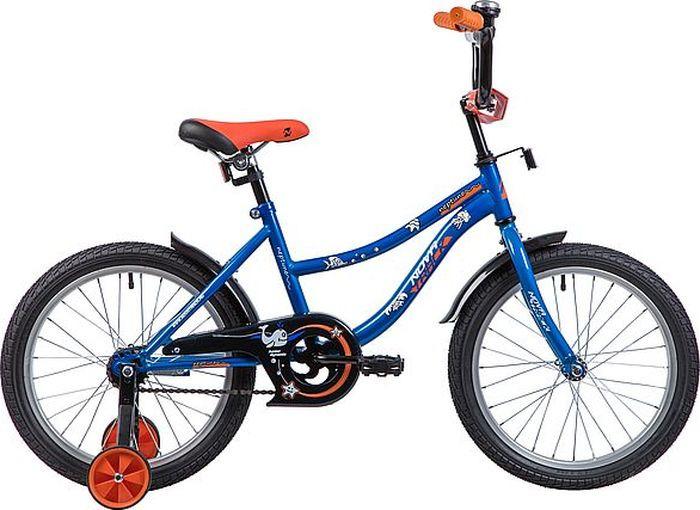 Велосипед Novatrack Neptune, синий, 18 велосипед novatrack neptune 12 2016