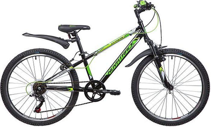 Велосипед Novatrack Extreme, черный, 24