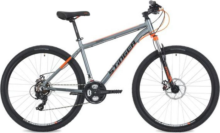 Велосипед Stinger Graphite Std, серый, 27,5, рама 16