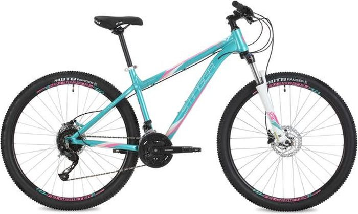 Велосипед Stinger Omega Std, зеленый, 27,5, рама 17