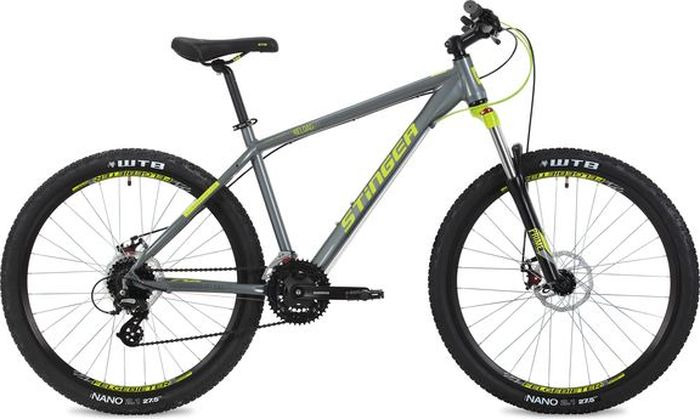 Велосипед Stinger Reload Std, серый, 27,5, рама 18