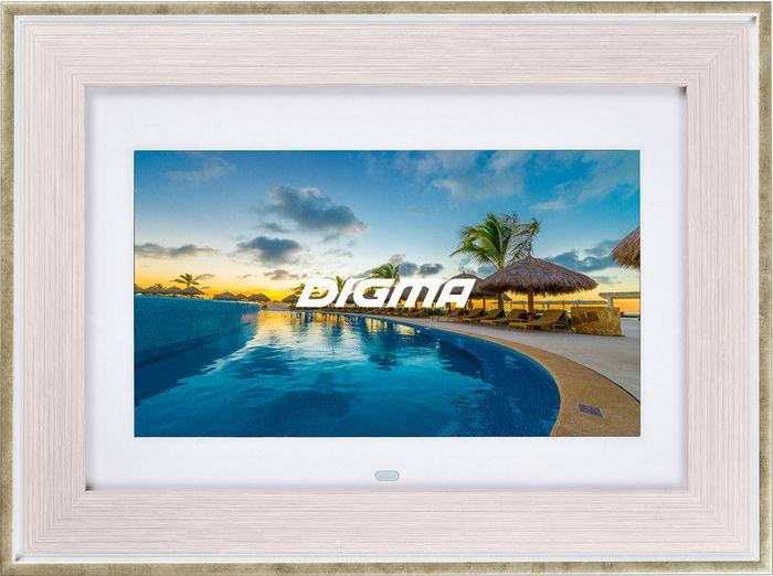 Цифровая фоторамка Digma PF-105BG, 1051616 digma digma pf 833