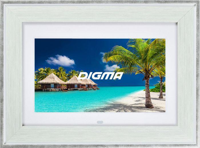 Цифровая фоторамка Digma PF-105MS, 1051610 цифровая фоторамка digma pf 733