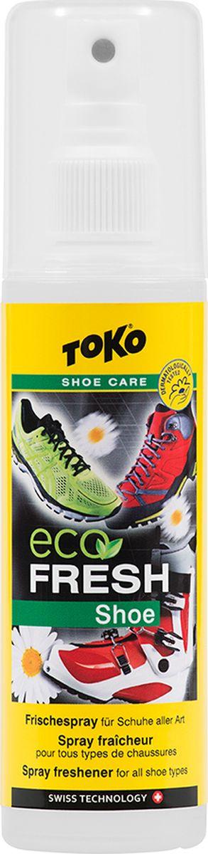 Освежитель Toko Shoe Fresh для всех типов обуви, 125 мл