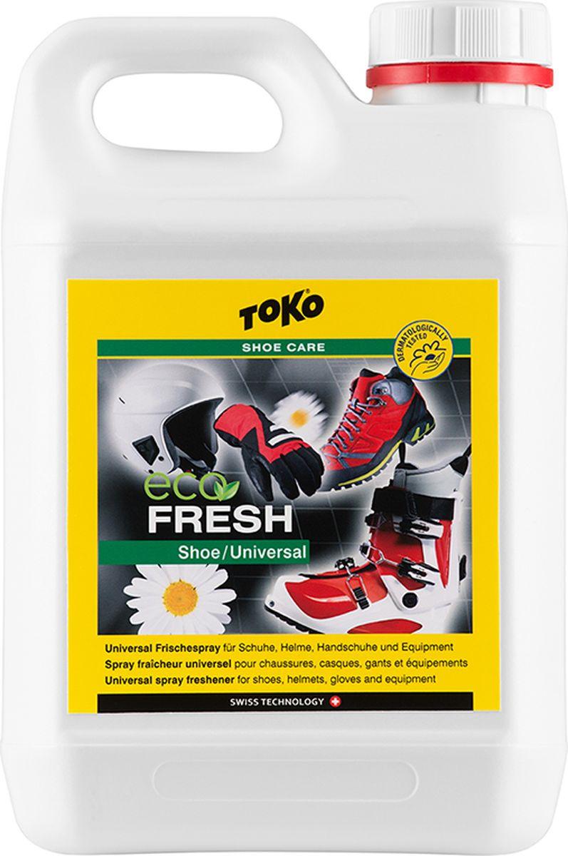Освежитель Toko Eco Shoe Universal Fresh для шлемов, перчаток и инвентаря, 2,5 л Toko