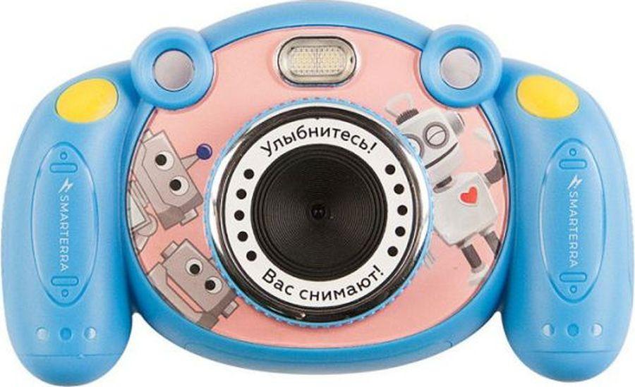 Компактный фотоаппарат Smarterra Mooviq, 24431, голубой цена и фото