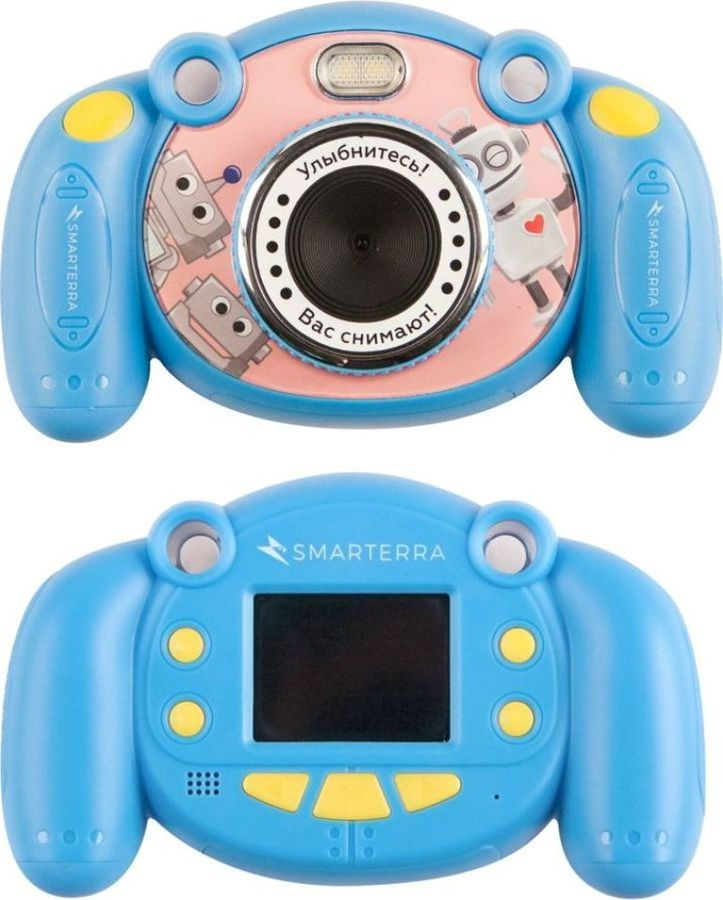 Компактный фотоаппарат Smarterra Mooviq, 24431, голубой Smarterra