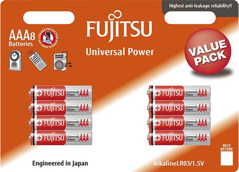 Батарейка щелочная Fujitsu Universal Power, 98390, тип ААА