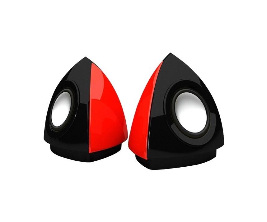 Компьютерная акустика TopDevice TDS-70 (Stereo, 3W, 90Hz-20kHz, USB, Red&Black)(DRTDS70)