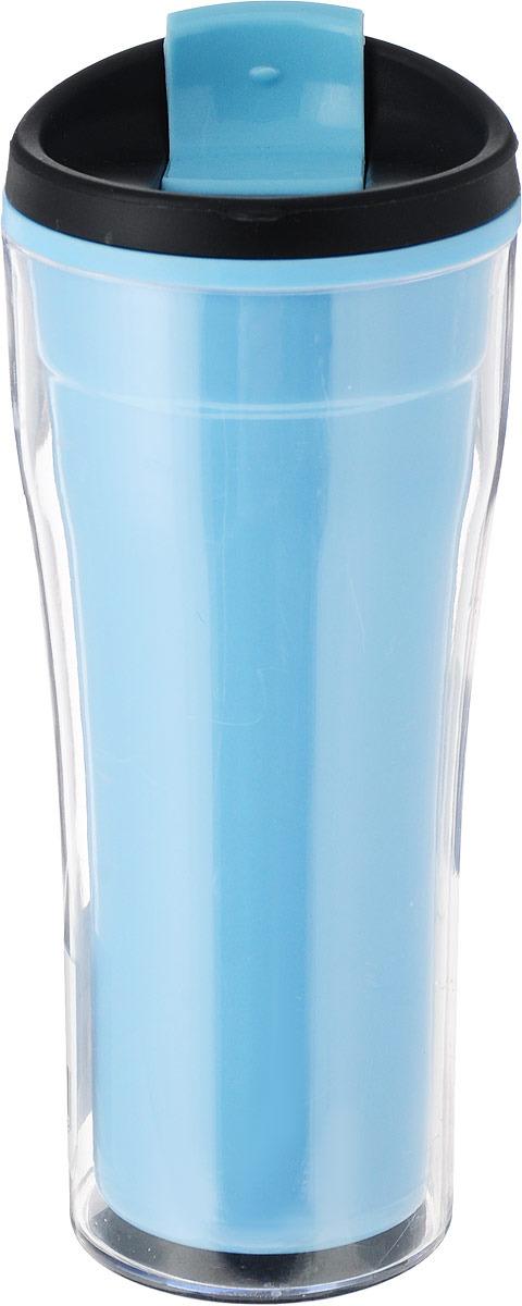 Фляга Mayer & Boch, голубой, 390 мл