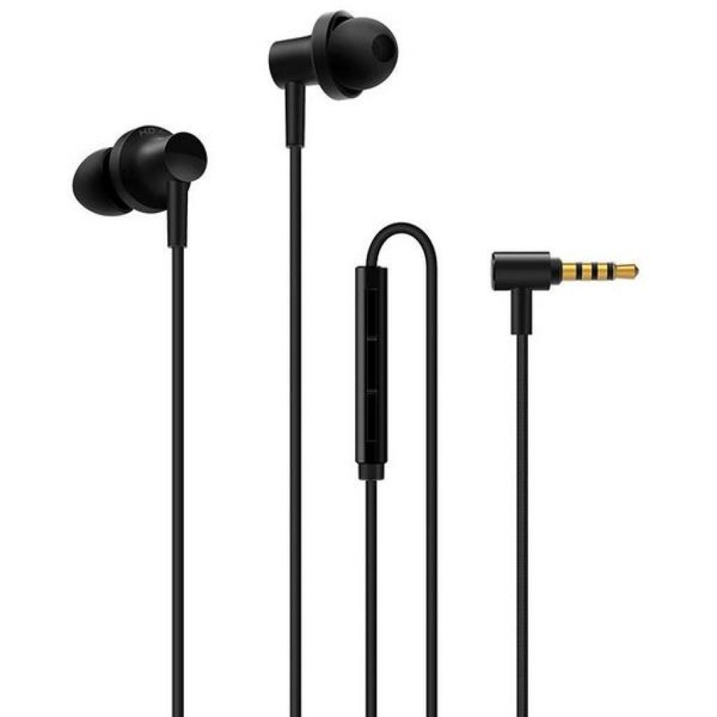 Наушники Xiaomi Hybrid Dual Drivers Earphones 2, черный наушники xiaomi hybrid dual drivers earphones piston 4 золотой