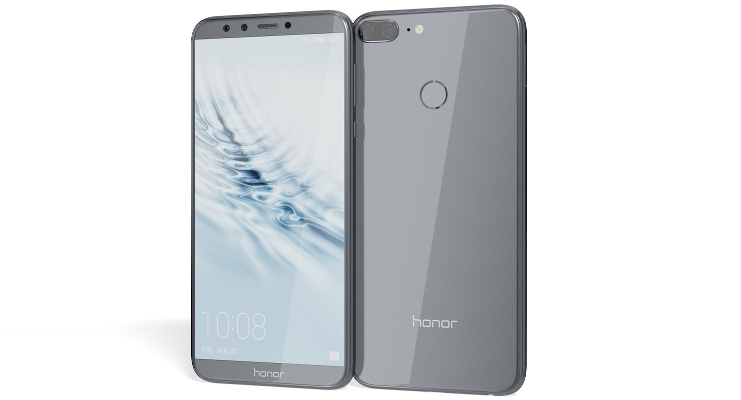 Смартфон Honor 9 Lite 3/32GB Gray 32GB gray huawei смартфон honor 9 lite 32gb серый grey