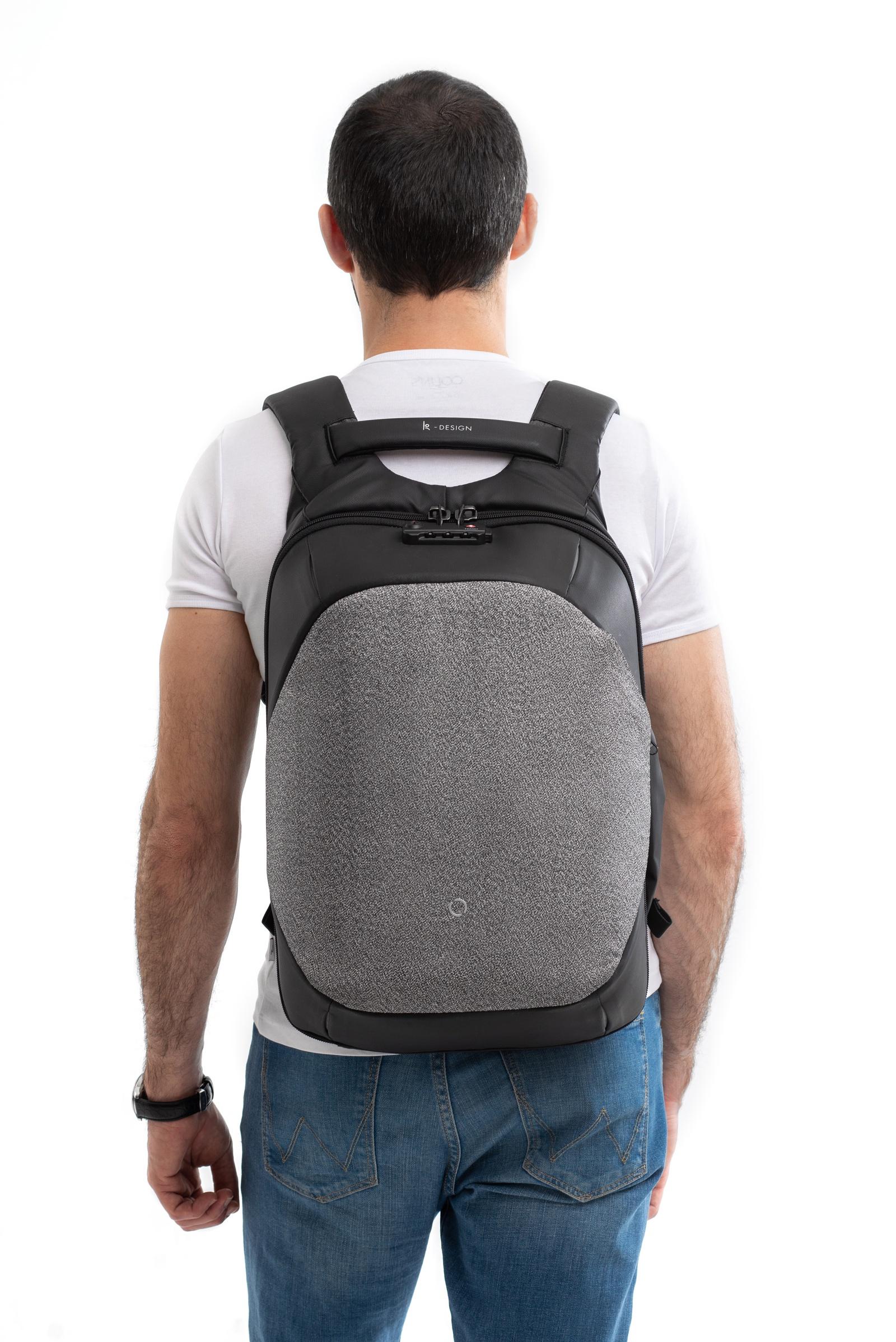 Рюкзак для ноутбука KORIN Design ClickPack Pro, темно-серый цена и фото