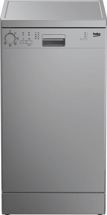 Посудомоечная машина Beko, DFS 05W 13S, серебристый посудомоечная машина beko dfn 05w13s