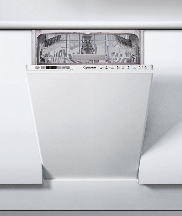 лучшая цена Посудомоечная машина Indesit, DSIC 3T117 Z, белый