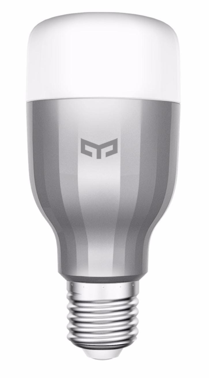 Лампочка Xiaomi Умная Wi-Fi Yeelight LED Smart Bulb - Color 9 Вт, Светодиодная светильник xiaomi mijia yeelight smart bedside lamp gold mjctd01yl