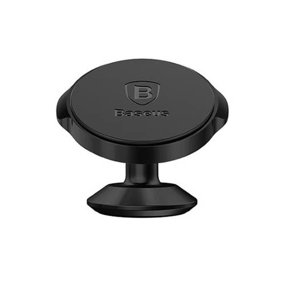 Держатель для телефона Baseus Small ears series Magnetic suction bracket 2, черный цена и фото