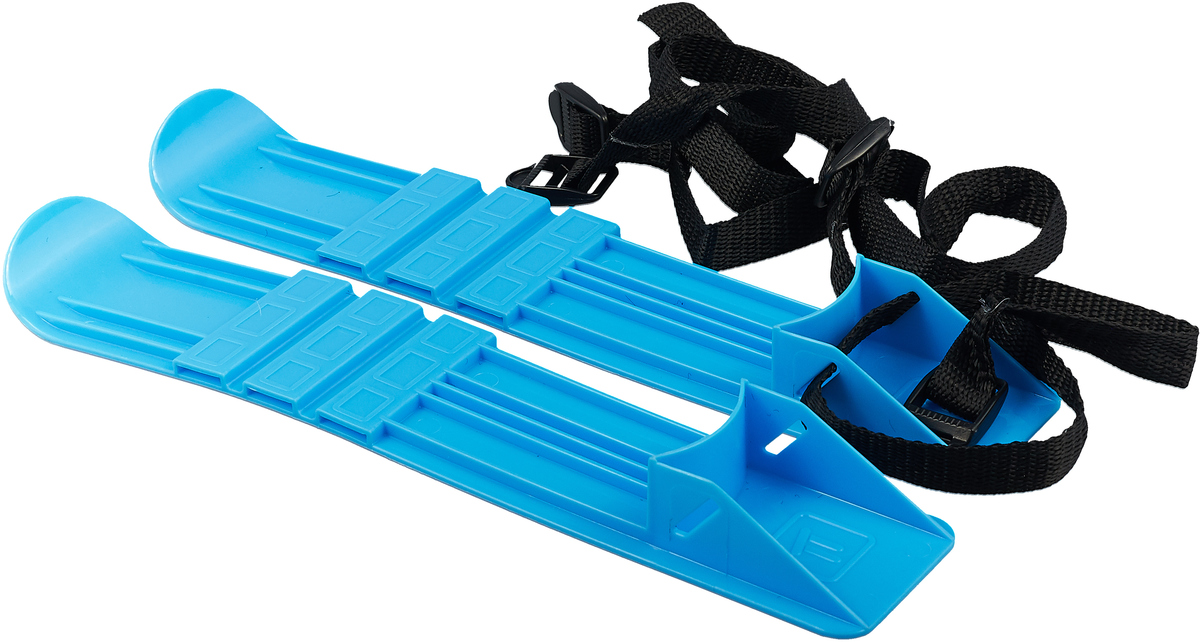 Лыжи детские Пластмастер, 40012, синий пластмастер мини трек малютка