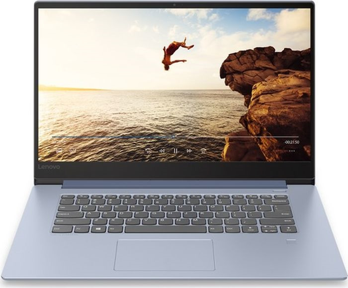 15.6 Ноутбук Lenovo IdeaPad 530S-15IKB 81EV003XRU, синий ноутбук синий