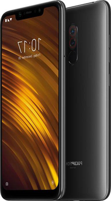 Смартфон Xiaomi Pocophone F1, черный смартфон xiaomi pocophone f1 128 гб черный 19993