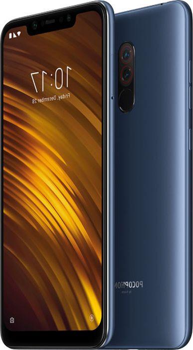 лучшая цена Смартфон Xiaomi Pocophone F1 6/64GB blue