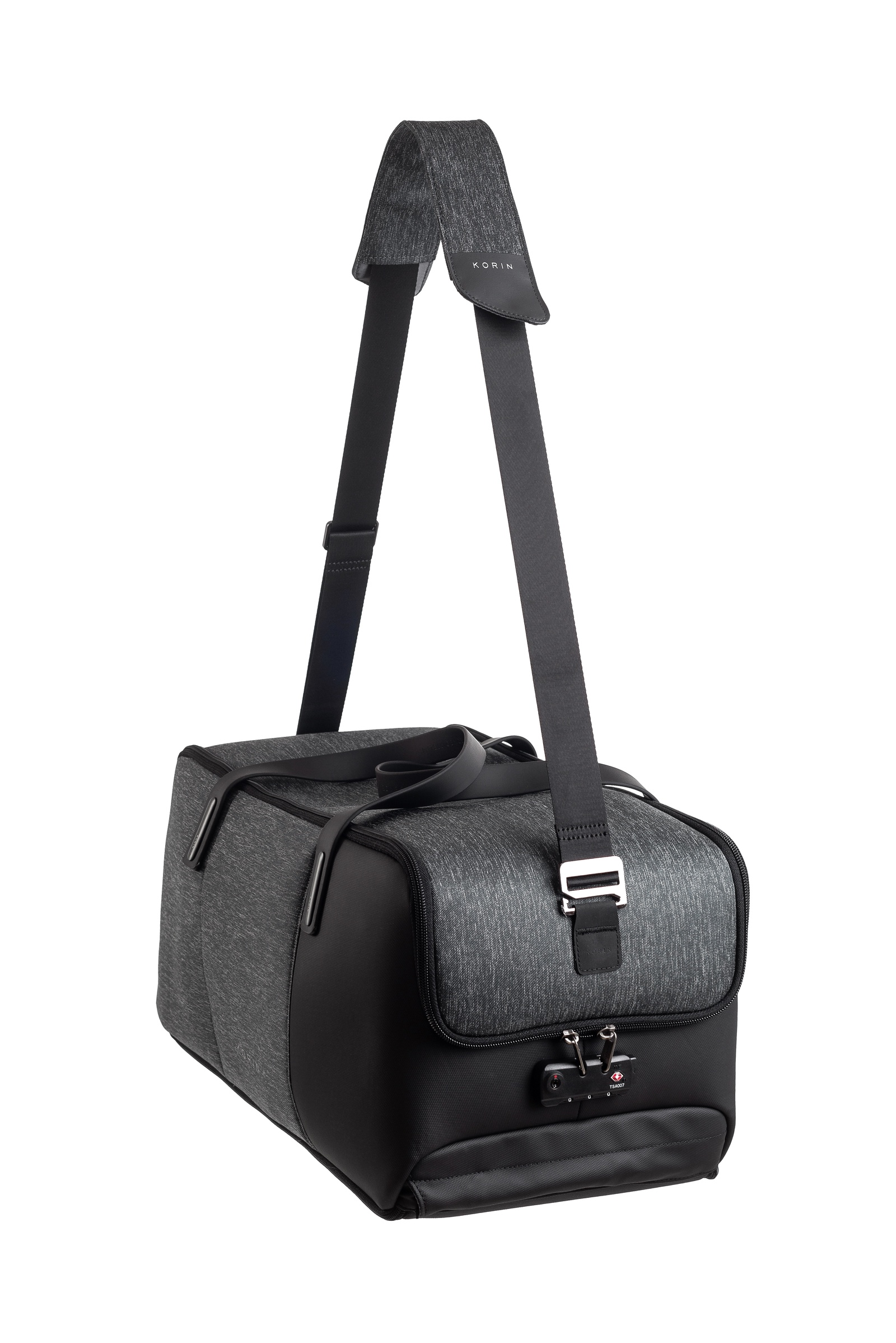 Сумка дорожная KORIN Design FlexPack Go, темно-серый рюкзак korin design clickpack gray серый