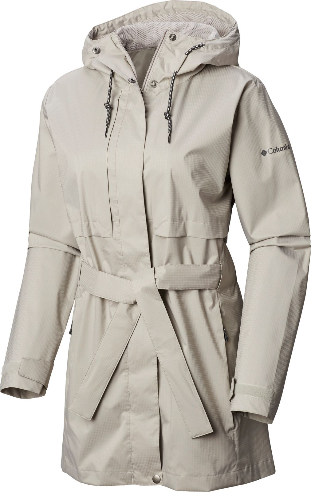 Плащ Columbia Pardon My Trench Rain Jacket button up drawstring trench coat