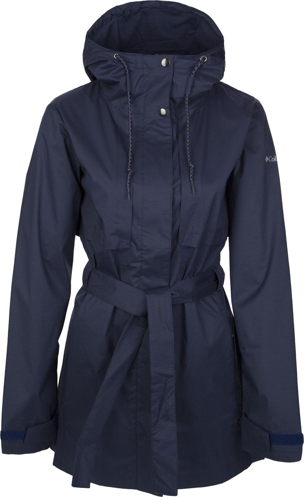 Плащ Columbia Pardon My Trench Rain Jacket плащ женский columbia pardon my trench rain jacket цвет серый 1839841 027 размер xs 42