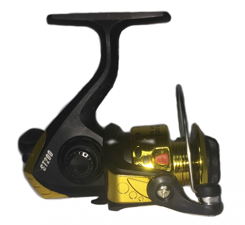 Катушка AGP WK 4, желтый, золотой, черный катушка agp sa серебристый