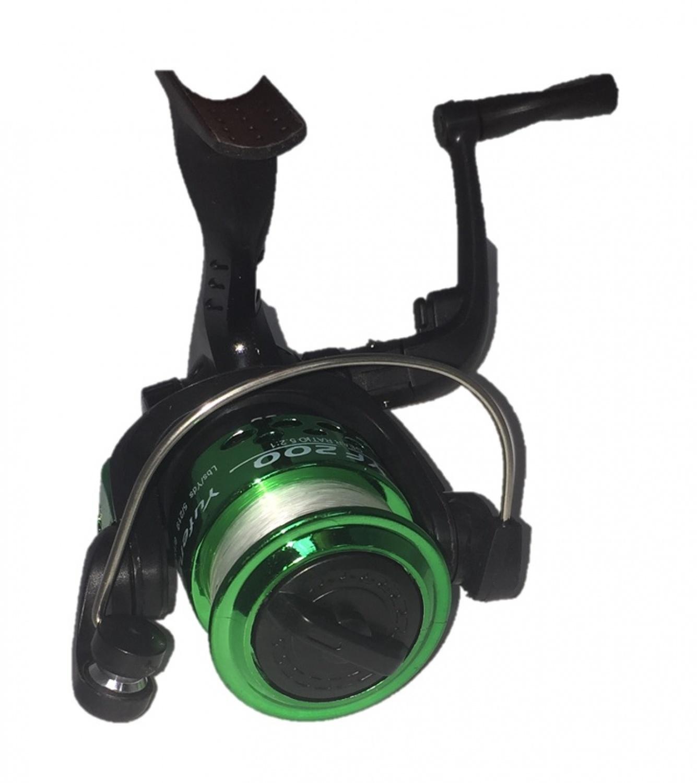 Катушка AGP WK 1, зеленый, темно-зеленый, черный