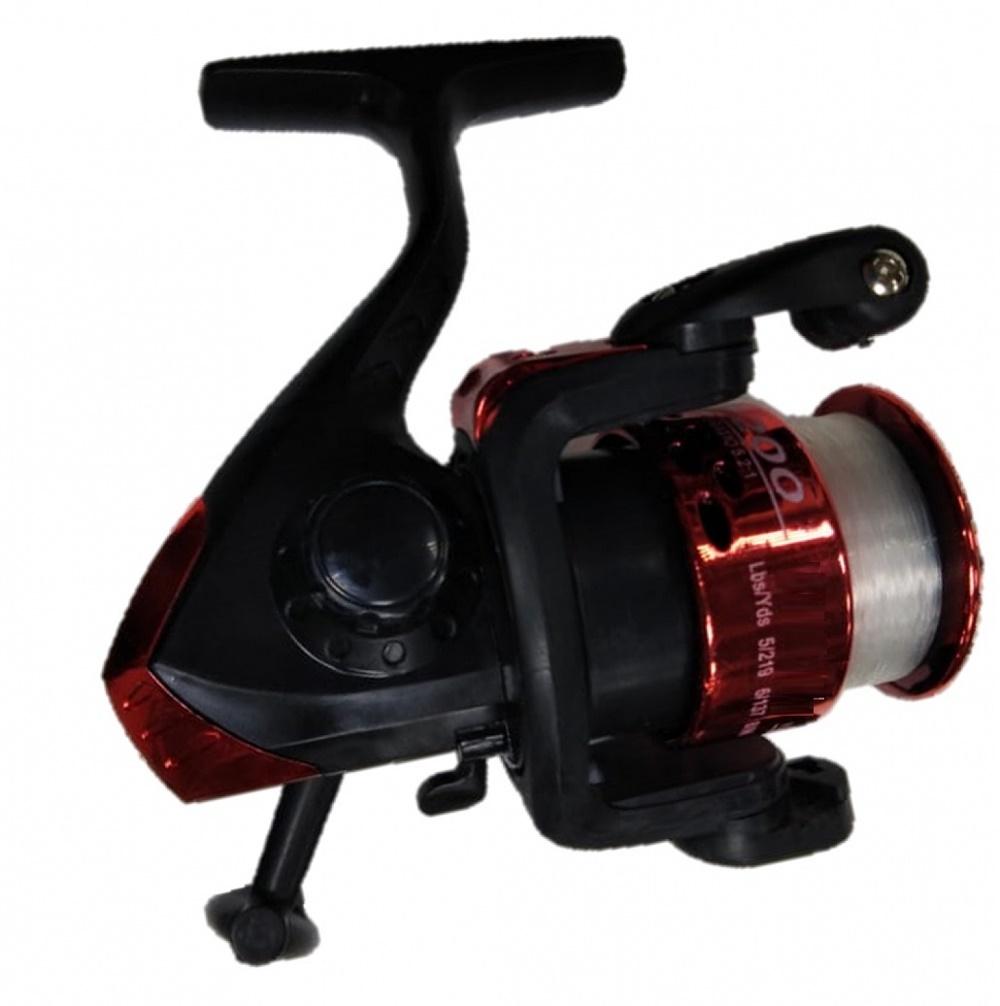 Катушка AGP WK 1 , красный, бордовый, черный