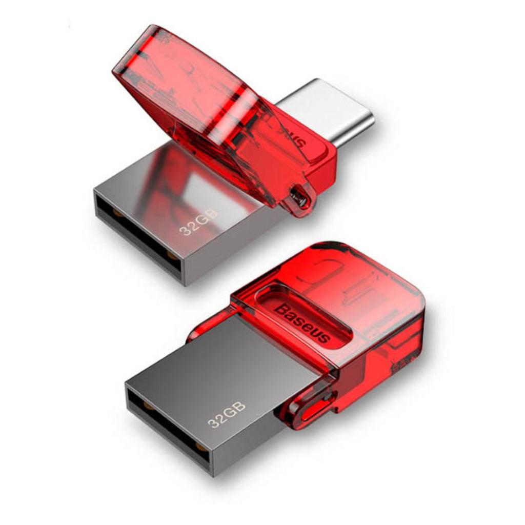 USB Флеш-накопитель Baseus ACAPIPH-EA9, красный