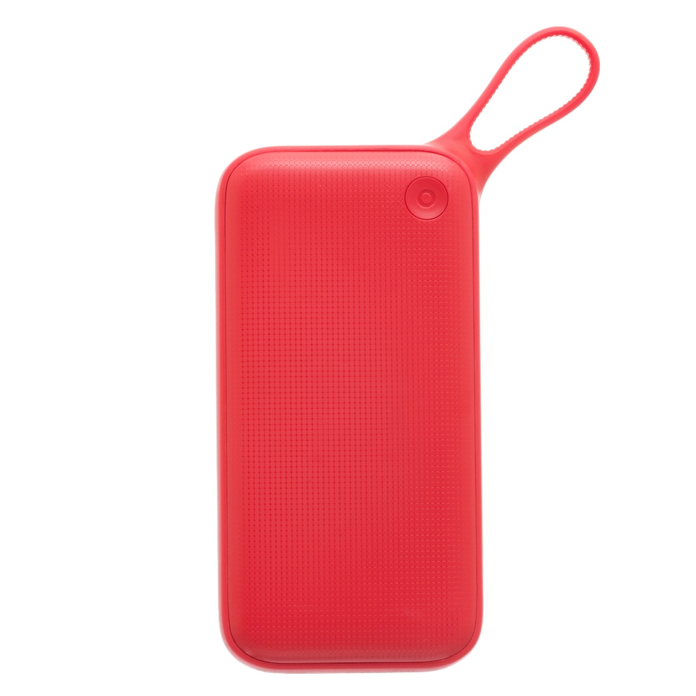 Внешний аккумулятор Baseus PPKC-A09, красный ozuko multi functional men backpack waterproof usb charge computer backpacks 15inch laptop bag creative student school bags 2018