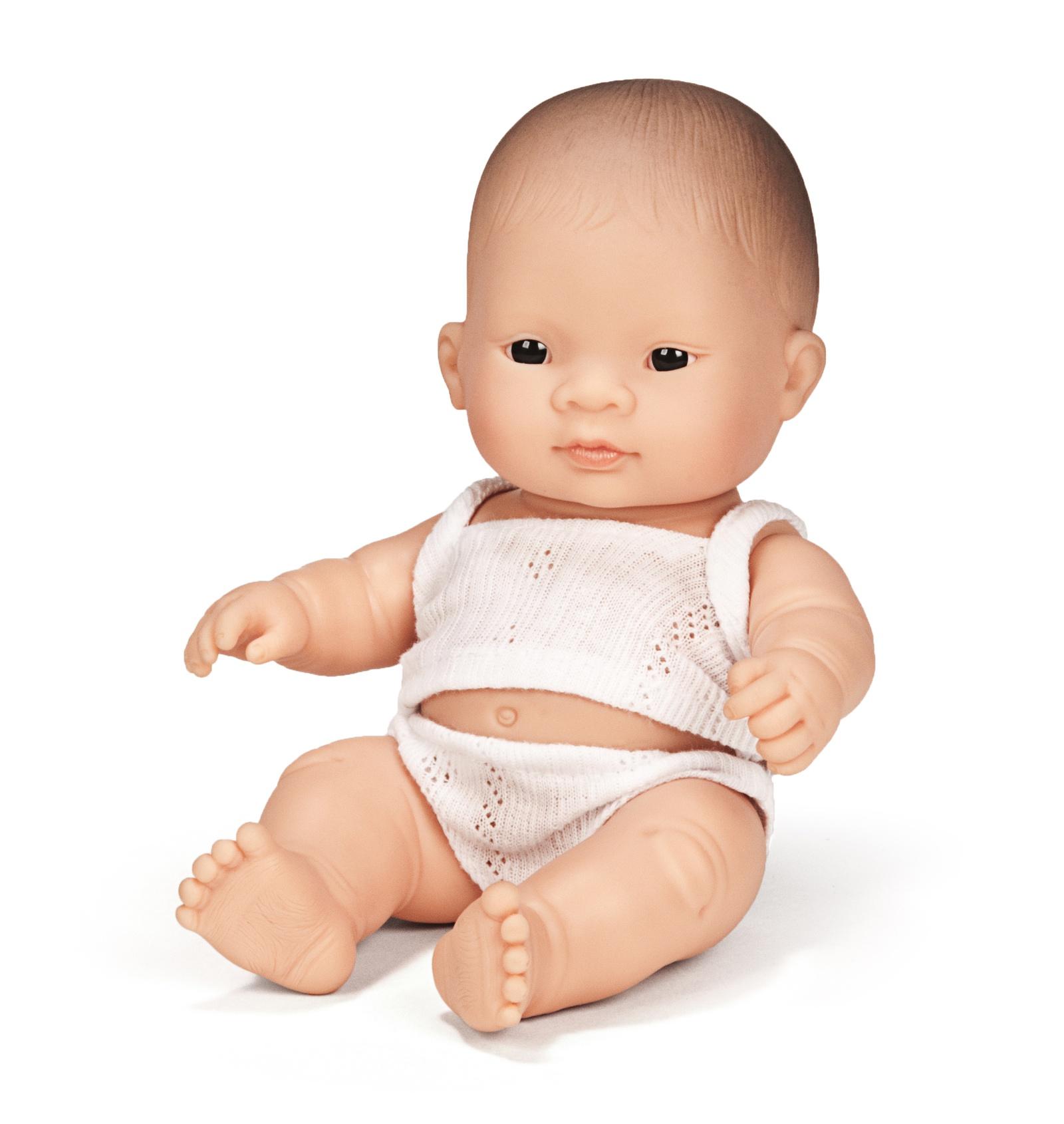 Кукла Miniland Мальчик азиат 21 см