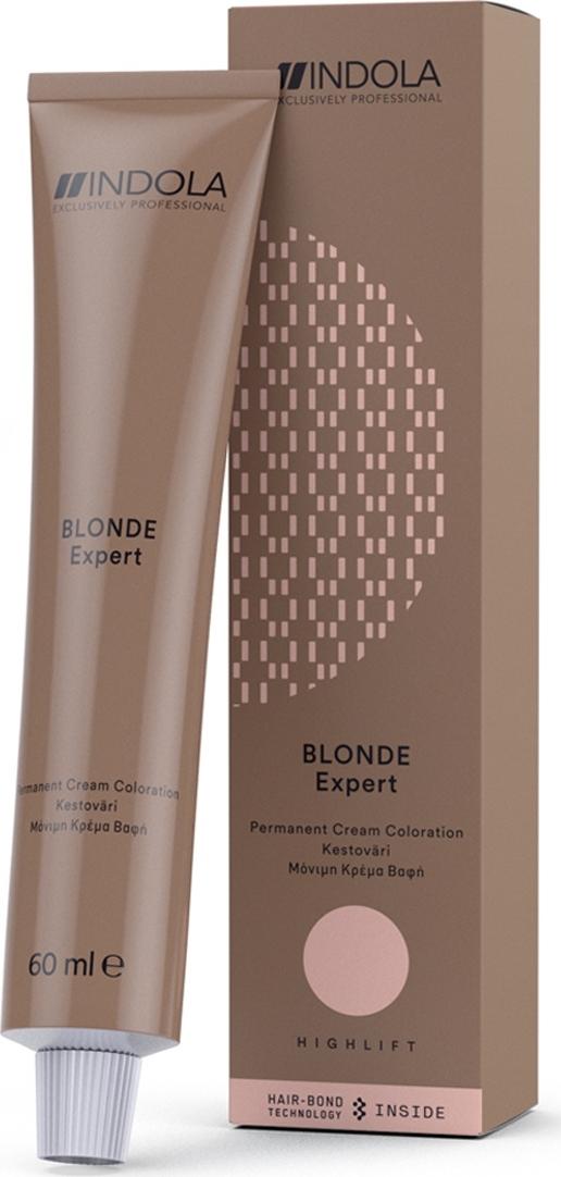 Крем-краситель для волос перманентный Indola Color Blonde Expert Pastel №27, 60 мл