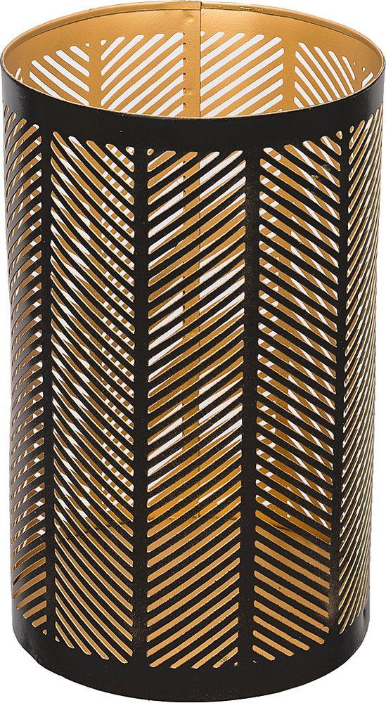 Подсвечник Lefard, 726-156, золотой, 14 х 14 х 22,5 см