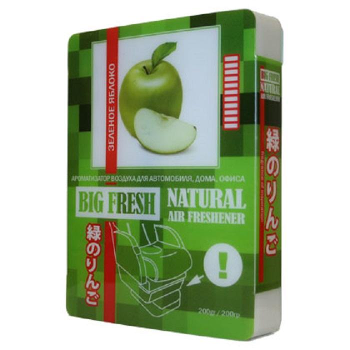 Автомобильный ароматизатор FKVJP BIG FRESH зеленое яблоко, зеленый цена 2017