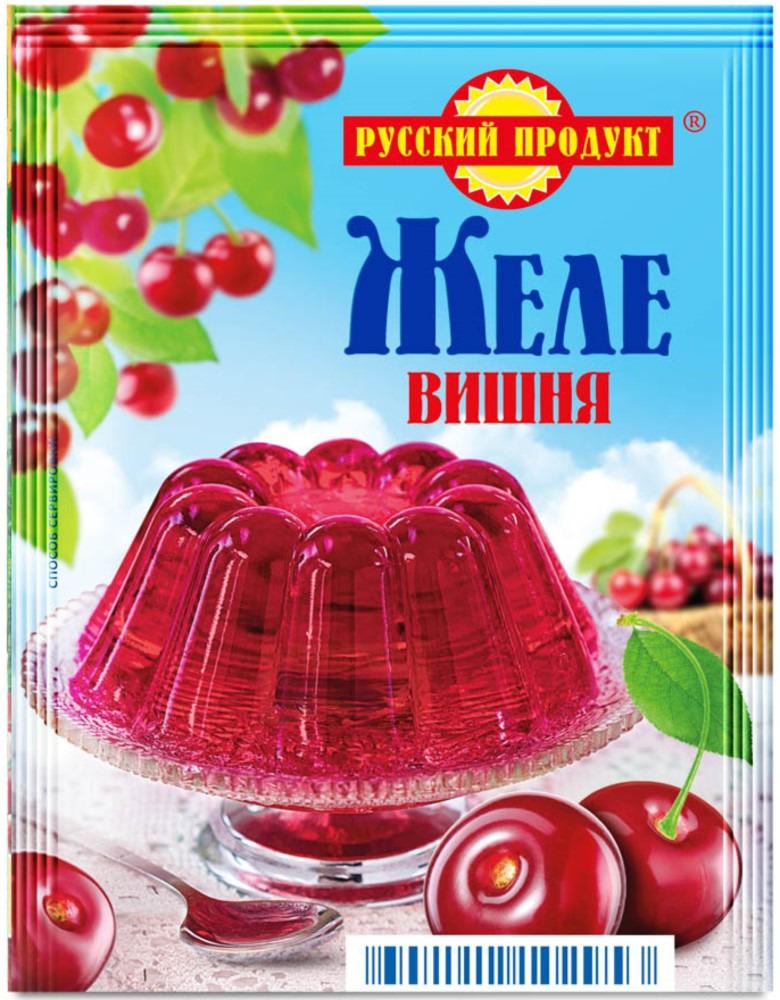 Русский продукт Желе вишня, 35 шт по 50 г русский продукт желе зеленое яблоко 35 шт по 50 г